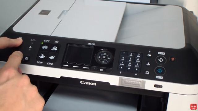 Canon Pixma Drucker Reset - Zurücksetzen - Reparieren FIX - lasst nach einigen Sekunden die Stopp-Taste los - haltet aber weiter die Einschalt-Taste gedrückt