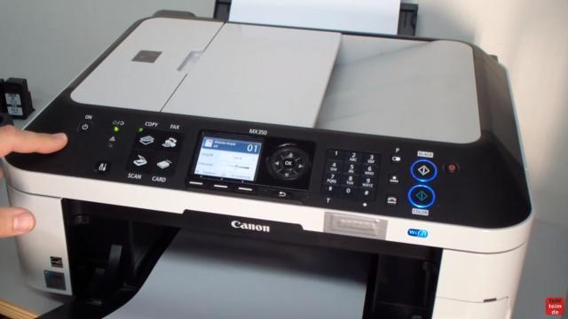 Canon Pixma Drucker Reset - Zurücksetzen - Reparieren FIX - jetzt hört man Geräusche und Aktivitäten aus dem Drucker
