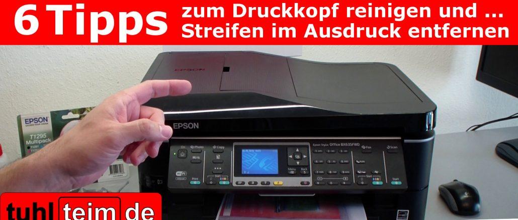 Ausbauen epson stylus druckkopf Druckkopf