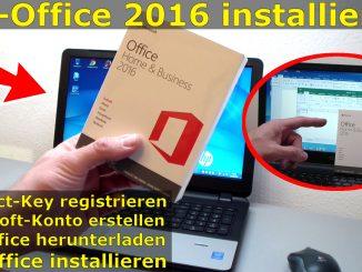 MS Office 2016 kaufen Product-Key registrieren Download Installation