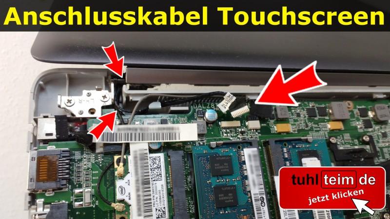 Notebook Anschlusskabel Touchscreen Display Platine