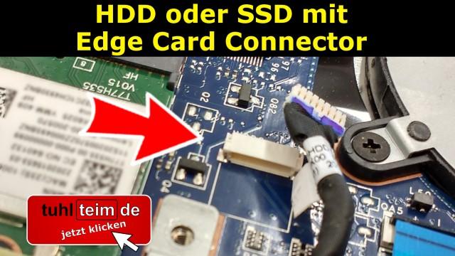 HDD SSD SATA Edge Card Connector Cart