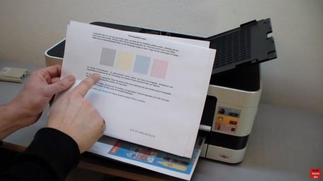 Brother Drucker druckt nicht schwarz - Kopf reinigen ohne Ausbau - Luft im Schlauch - nach Reinigung funktioniert auch wieder Schwarz