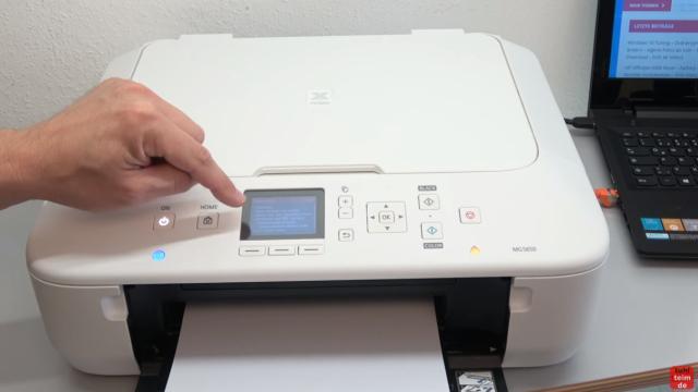 Canon Pixma Drucker Papierstau Fehlercode Supportcode 1303 FIX - Fehlermeldung wird im Display angezeigt
