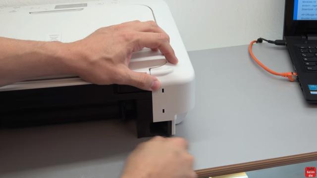 Canon Pixma Drucker Papierstau Fehlercode Supportcode 1303 FIX - immer Netzstecker rausziehen - Gerät nur stromlos untersuchen