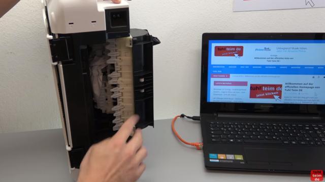 Canon Pixma Drucker Papierstau Fehlercode Supportcode 1303 FIX - Papier in der Umlenkeinheit / Transporteinheit gefunden