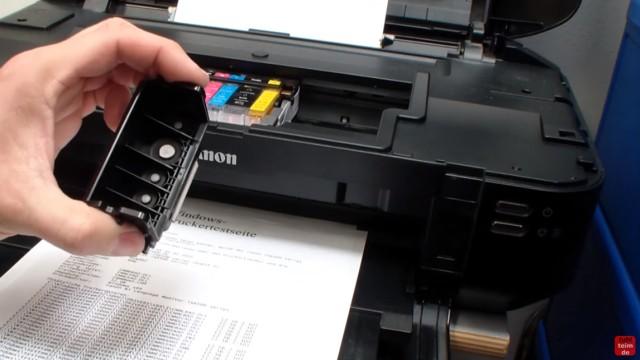 Canon Pixma B200 Error – Fehler beheben FIX - Drucker funktioniert wieder mit neuem Druckkopf