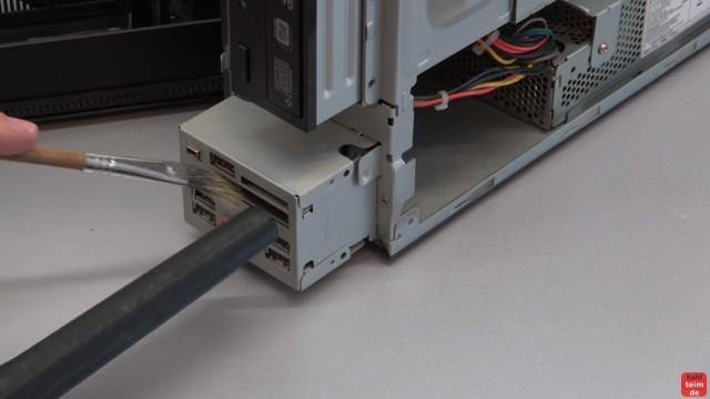 Einfach PC mal wieder sauber machen - Druckluft hilft hier nicht mehr - die Schnittstellen nicht vergessen - dort zieht meistens Staub rein