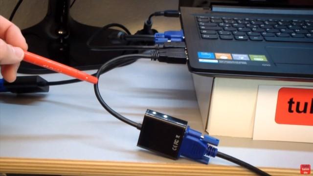 Multi Monitor Setup Windows 10 - 5 Monitore am Notebook - USB3.0 auf VGA-Adapter