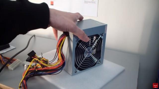 PC ATX Netzteil testen mit Multimeter oder Netzteiltester - Test von 3,3V + 5V + 12V - neues ATX-Netzteil