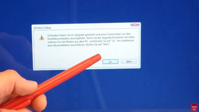 Windows 10 Festplatte SSD - Partitionen löschen - formatieren - neu anlegen - Sicherheitsabfrage bei vorhandenem Windows