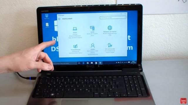 Windows 10 blockiert Internet - DSL langsam - Browser hängt und lädt nicht - die Einstellungen von Windows 10 werden angezeigt