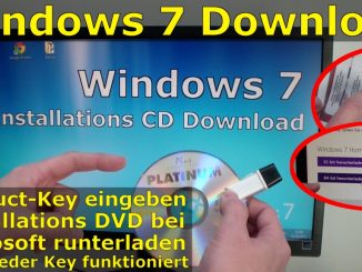 Windows 7 bei Microsoft runterladen - ISO Image Download 32Bit + 64Bit von Microsoft