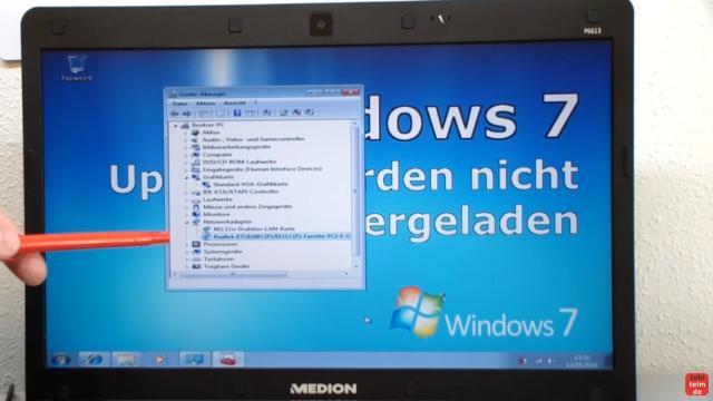 Windows 7 Updates werden nicht gefunden | Update hängt - reagiert und funktioniert nicht - alle Treiber - Netzwerk, Grafik, Chipsatz - sind installiert