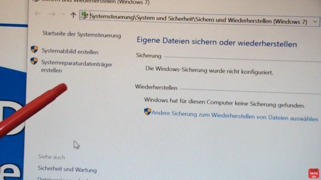 Windows 10 Festplatte klonen auf SSD oder HDD [Teil 2] Zielfestplatte ist kleiner - erstellt einen Systemreparaturdatenträger mit Windows 10