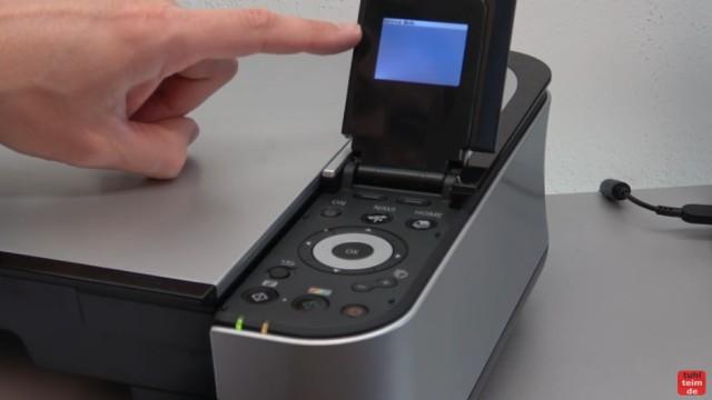 Canon Pixma Druckkopf Fehler U052 Error - Canon Drucker Reset - der Service Mode der Pixma Drucker