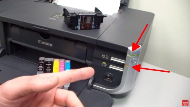 Canon Pixma blinkt orange - Alle Fehlercodes mit diesem Video finden - Drucker blinkt mehrfach orange