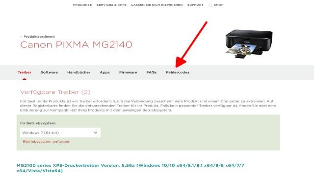Canon Pixma blinkt orange - Alle Fehlercodes mit diesem Video finden - auf Fehlercodes klicken