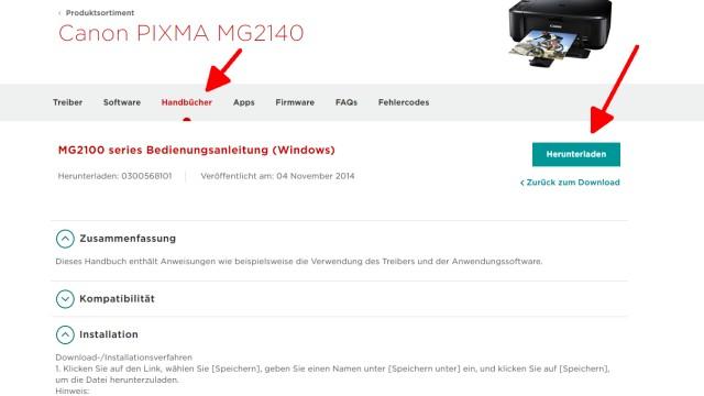 Canon Pixma blinkt orange - Alle Fehlercodes mit diesem Video finden - alternativ das Handbuch oder die Bedienungsanleitung herunterladen