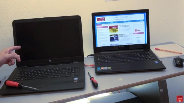 """HP Pavilion Notebook PC nicht zu öffnen - Öffnen auf eigene Gefahr - 17-x035ng - ein aktuelles Notebook mit 17"""" (43,2cm) Bildschirm"""
