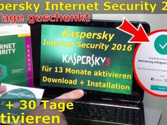 Kaspersky Internet Security runterladen - 365 Tage Abo + 30 Tage geschenkt