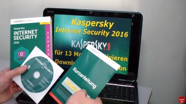 Kaspersky Internet Security runterladen - 365 Tage Abo + 30 Tage geschenkt - Inhalt der Verpackung: CD, Kurzanleitung und Seriennummer