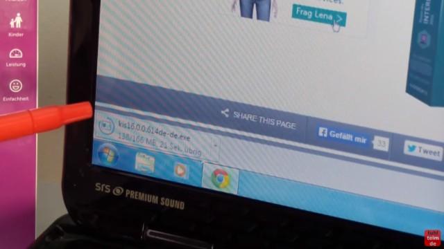 Kaspersky Internet Security runterladen - 365 Tage Abo + 30 Tage geschenkt - Installer wird runtergeladen