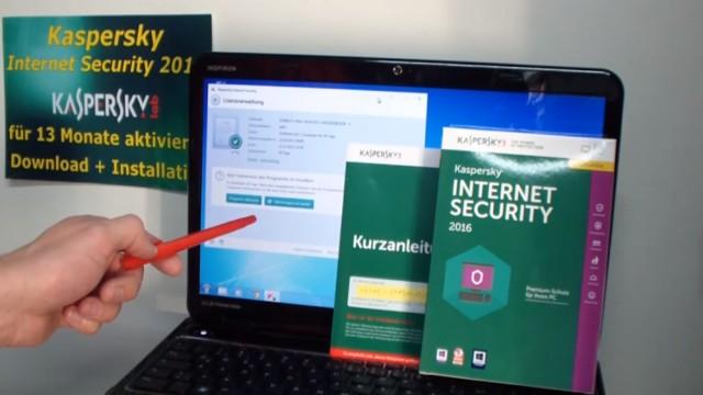 Kaspersky Internet Security runterladen - 365 Tage Abo + 30 Tage geschenkt - Seriennummer (Produkt-Schlüssel) erst nach 30 Tagen eingeben
