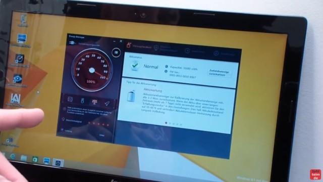 Notebook Akku Problem - lädt nicht 100% - defekt bei neuem Lenovo Notebook - Akku Ladesoftware ist installiert