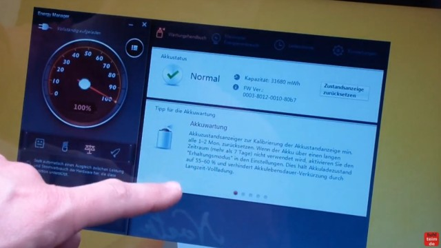 Notebook Akku Problem - lädt nicht 100% - defekt bei neuem Lenovo Notebook - Tipps zur Akkuwartung