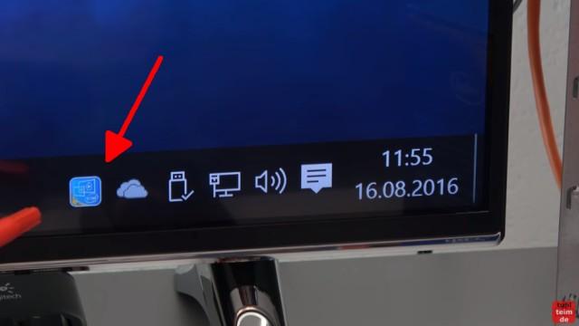 Smart TV 4K UHD an Windows 10 anschließen mit Intel HD Graphics - der Intel Grafiktreiber ist installiert