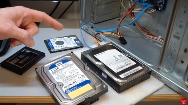 Windows 10 Festplatte klonen auf SSD oder HDD [Teil 1] Zielfestplatte gleich groß oder größer - Klonen von HDD oder SSD auf HDD oder SSD ist möglich