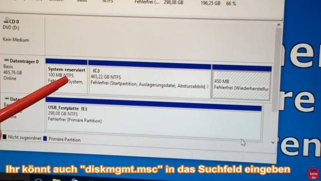 Windows 10 Festplatte klonen auf SSD oder HDD [Teil 1] Zielfestplatte gleich groß oder größer - das sind die Partitionen der Quell-Festplatte, von der geklont wird