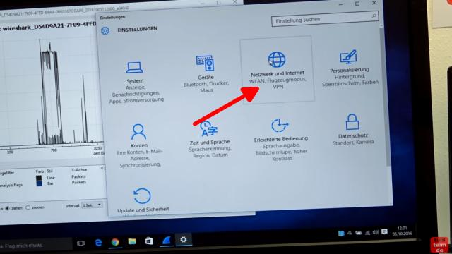 Windows 10 Update deaktivieren - automatische Updates und Übermittlung ausschalten - klickt in den Windows Einstellungen auf Netzwerk und Internet
