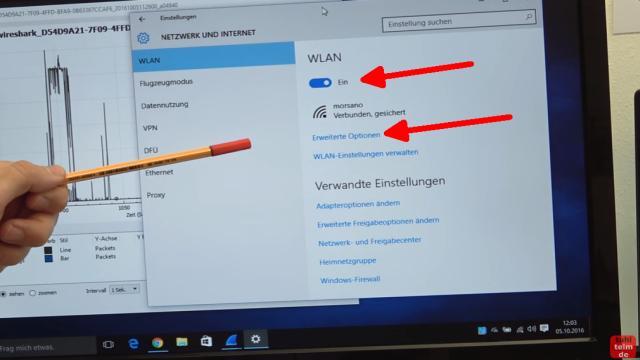 Windows 10 Update deaktivieren - automatische Updates und Übermittlung ausschalten - eine WLAN-Verbindung muss aktiviert und hergestellt sein - klickt auf Erweiterte Optionen