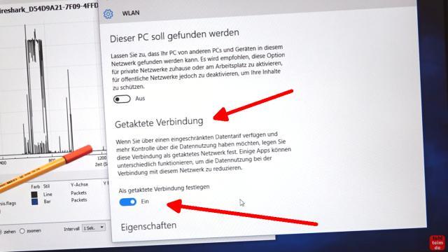 Windows 10 Update deaktivieren - automatische Updates und Übermittlung ausschalten - ist WLAN aktiv, dann erscheint Getaktete Verbindungen - schaltet diese auf EIN