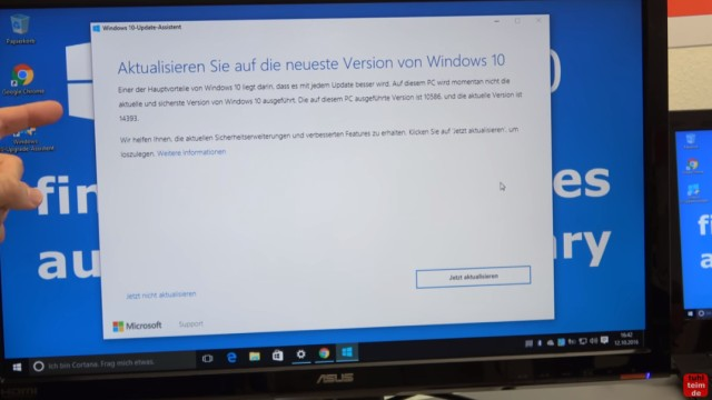 Windows 10 findet keine Updates - 1607 Anniversary Update selbst installieren - Aktualisieren Sie auf die neueste Version von Windows 10