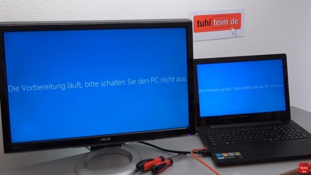 Windows 10 findet keine Updates - 1607 Anniversary Update selbst installieren - Update wird nach Neustart installiert