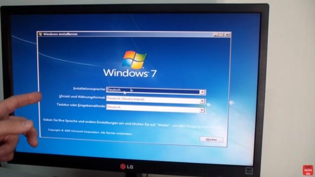 Windows 7 - bootbaren USB-Stick mit Windows 7 DVD oder ISO erstellen und bootfähig machen - Windows 7 Installationsstick testen - funktioniert !