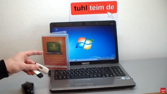 Windows 7 neu installieren von CD oder USB-Stick - Updates und Aktivieren - Clean Install - Installation von CD/DVD oder USB-Stick