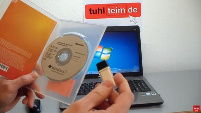 Windows 7 neu installieren von CD oder USB-Stick - Updates und Aktivieren - Clean Install - Windows 7 CD/DVD