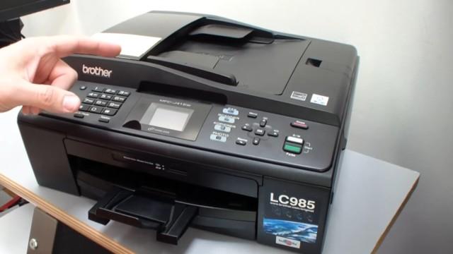 Brother MFC Druckkopf reinigen ohne Ausbau - Ausdruck ist streifig - Brother Drucker mit fest eingebautem Druckkopf