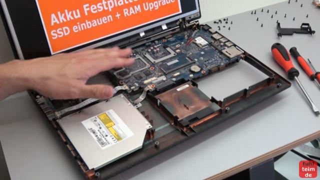 Nexoc XMX Clevo W370ST Gaming Notebook Festplatte SSD Lüfter RAM CMOS Reparatur - Mainboard kann ausgebaut werden