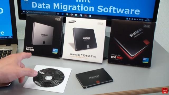 Windows 10 auf Samsung SSD Evo klonen mit Samsung Software - Fehler 301001 FIX Error - verschiedene Samsung EVO SSD-Laufwerke