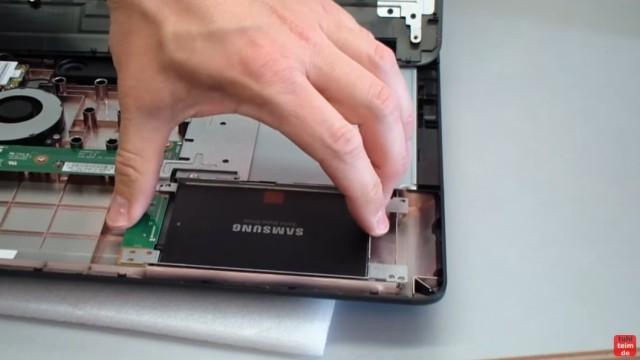 Windows 10 auf Samsung SSD Evo klonen mit Samsung Software - Fehler 301001 FIX Error - Notebook oder PC öffnen und neue SSD einbauen