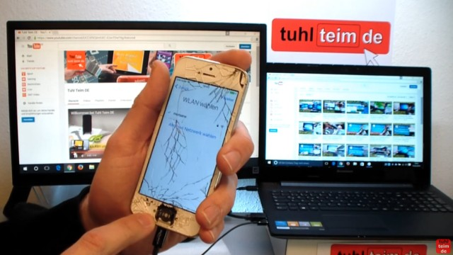 iPhone Hard Reset deutsch - deaktiviertes iPhone ohne SIM zurücksetzen Update - das iPhone muss dabei u.U. mehrmals neu gestartet werden