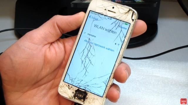 iPhone Hard Reset deutsch - deaktiviertes iPhone ohne SIM zurücksetzen Update - das iPhone ist zurückgesetzt und kann neu eingerichtet werden