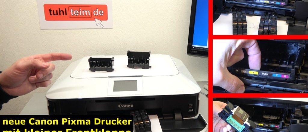 Canon Pixma Drucker Druckkopf auswechseln - ausbauen - wechseln