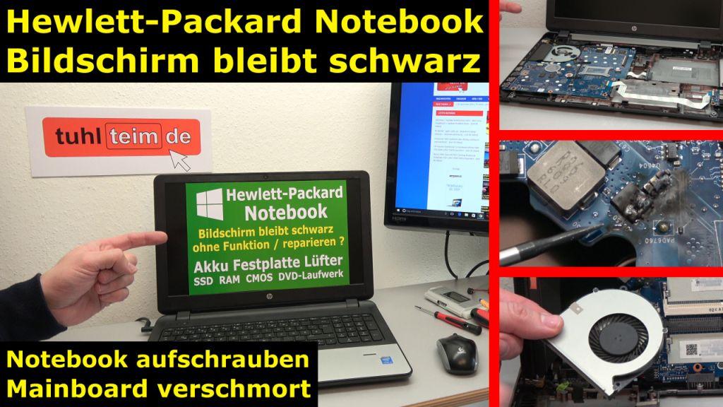hp notebook funktioniert nicht mehr bildschirm bleibt schwarz aufschrauben und pr fen mit. Black Bedroom Furniture Sets. Home Design Ideas