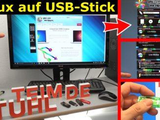 Linux auf USB-Stick erstellen - Linux Live USB Creator